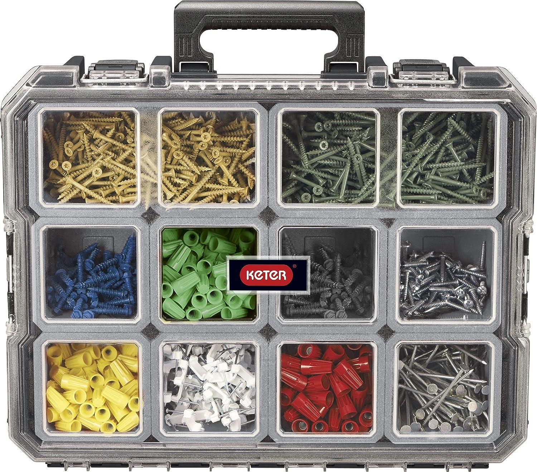 Keter 229805 Master Pro Boîte à outils organiseur 16' 17201702