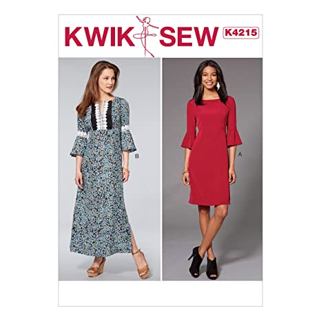 Kwik Sew Mustern k4215os Damenkleider, Tissue, Mehrfarbig, 17 x 0,5 ...