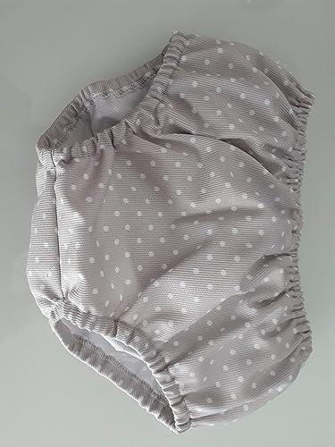 Cubrepañal bebe tela topos gris bebe: Amazon.es: Handmade
