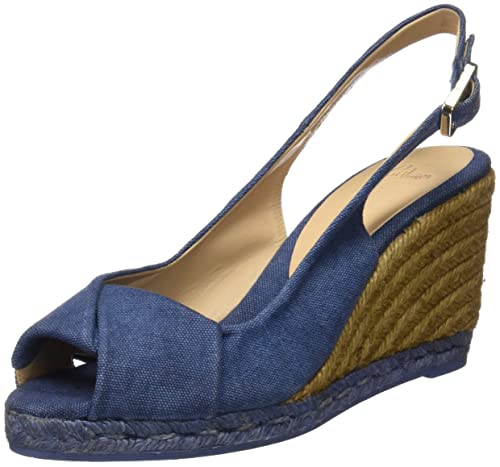 Castañer Brianda 8 325, Alpargatas, Mujer, Azul (Washed Canvas/Jeans), 40 EU: Amazon.es: Zapatos y complementos
