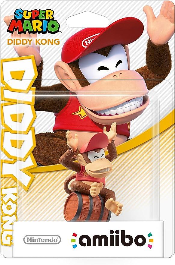 Nintendo - Figura amiibo Diddy Kong (Colección Mario): Amazon.es: Videojuegos