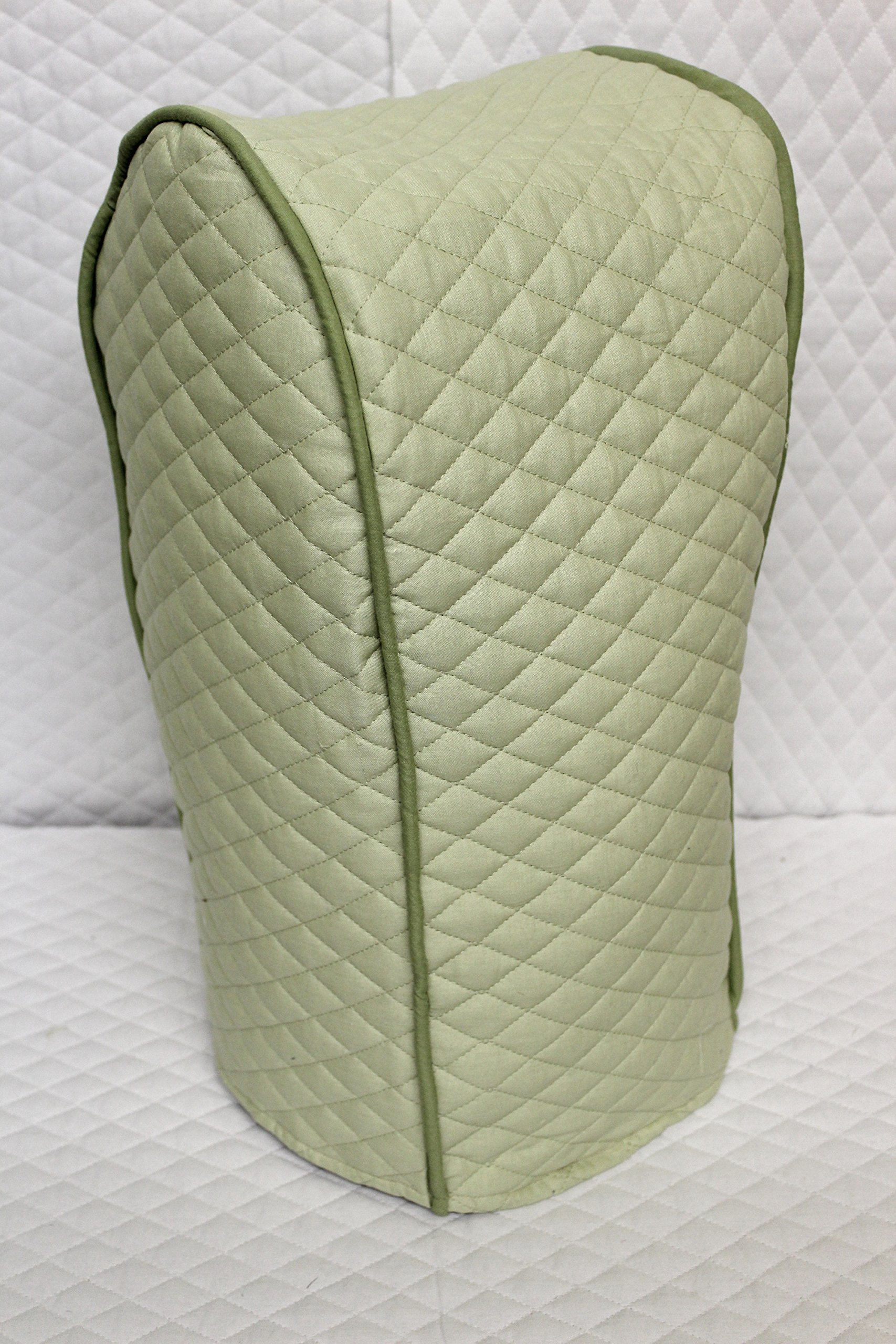 Ninja blender cover - Quilted Double Faced Cotton, Sage