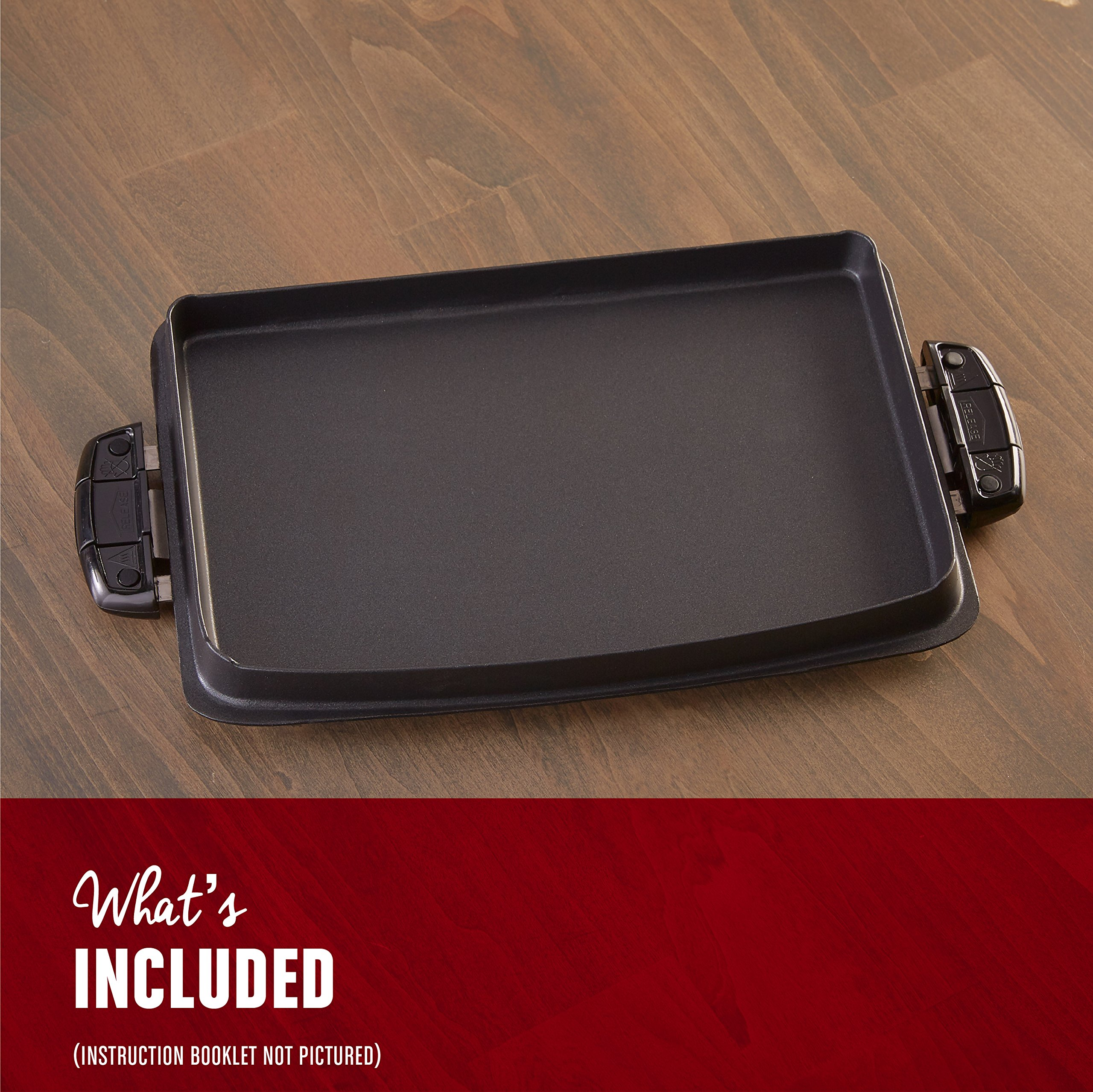 George Foreman Evolve Grill System Griddle Plate, GFP84GP by George Foreman (Image #4)