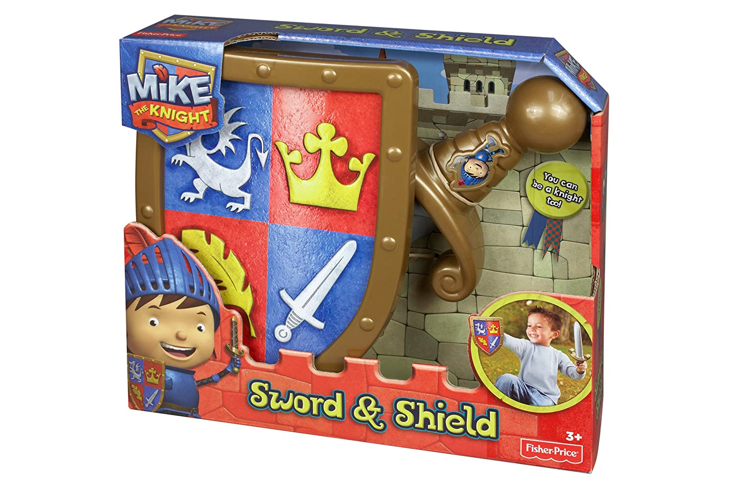Mike The Knight Soft Sword And Shield Halloween Accessory