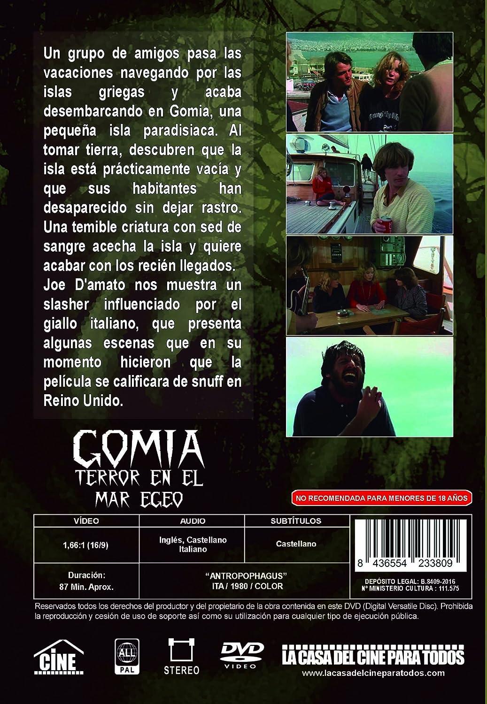 Amazon.com: Gomia, terror en el mar Egeo /Antropophagus/ [Non-usa Format: Pal -Import- Spain]: Movies & TV