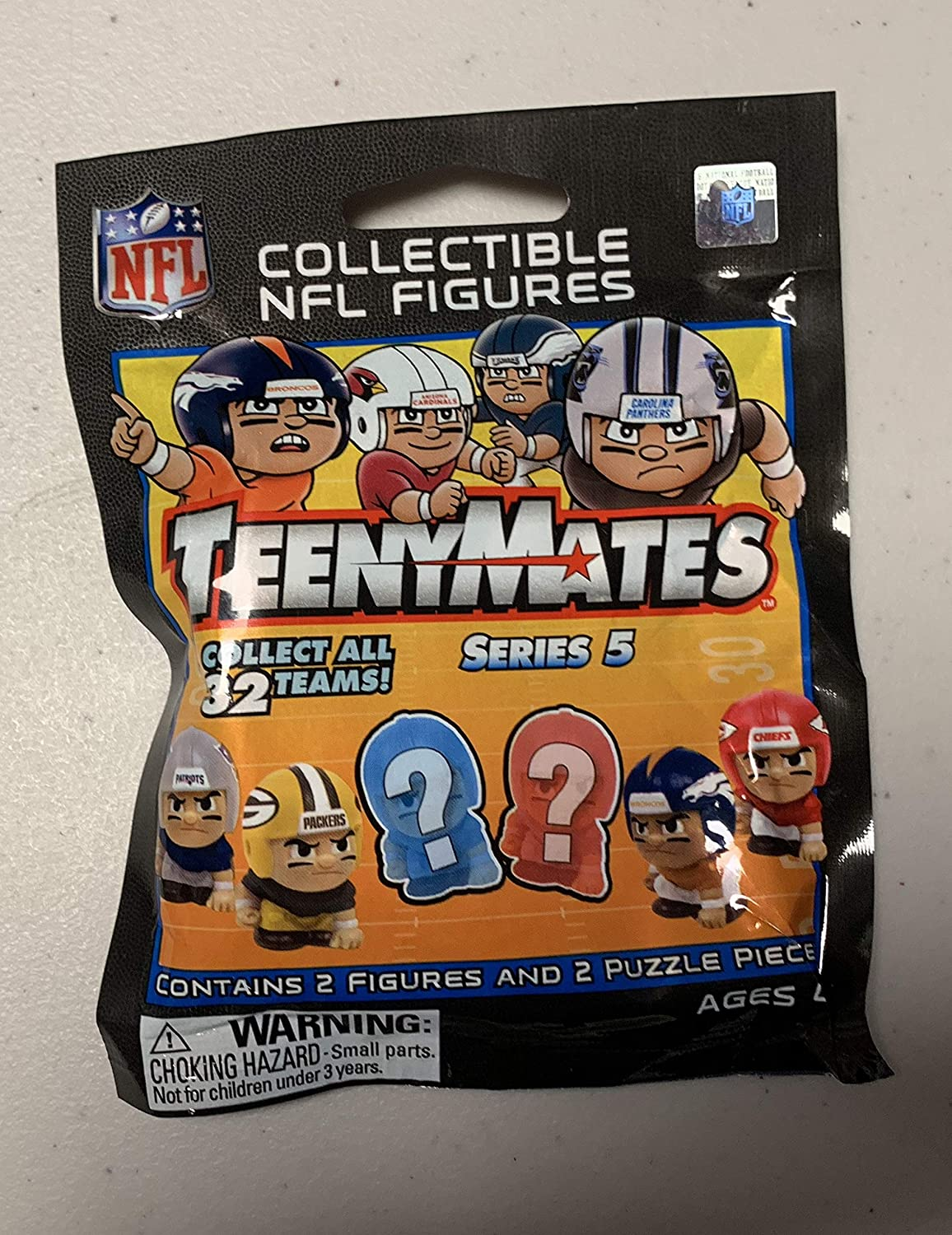 Unopened Pack - NFL Teenymates Series 5 Collectible NFL Figures Party Animal Toys