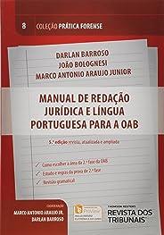 Manual de Redação Jurídica e Língua Portuguesa Para a OAB