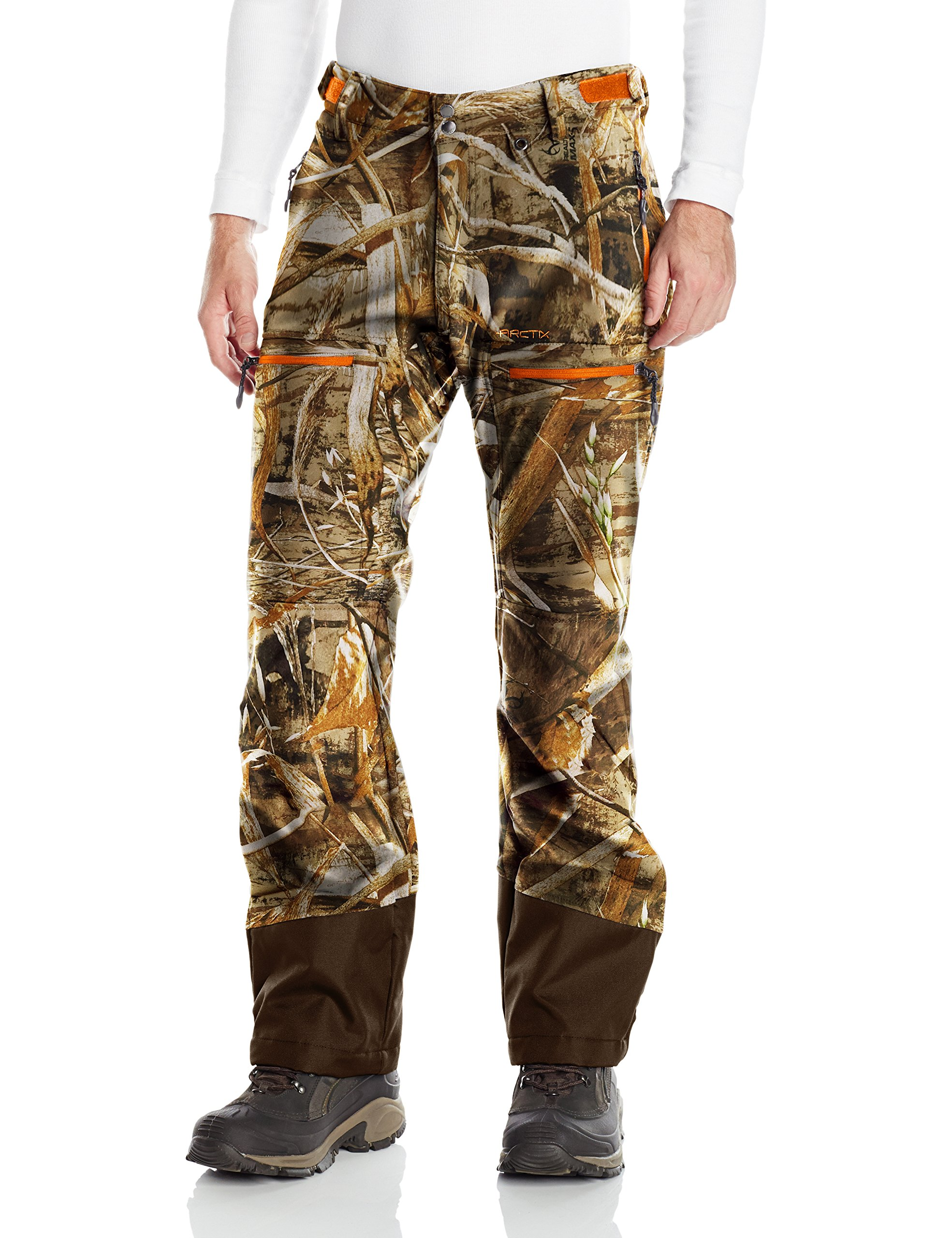 Arctix Men's Duke Vulcan Softshell Pants, Realtree Max-5 Camo, Large
