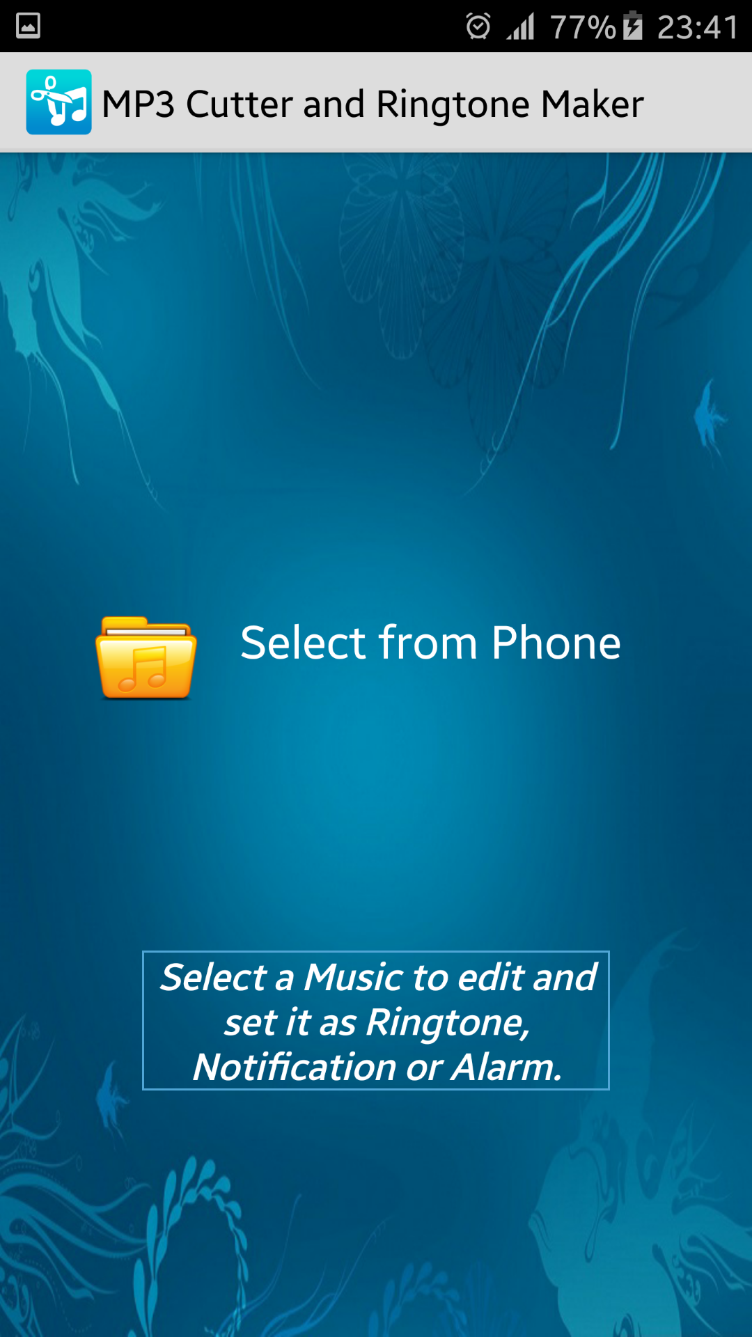 mp3 cutter and ringtone maker apk 2.0