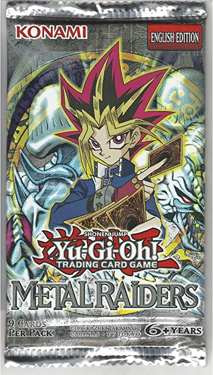 Yu-Gi-Oh Cards - Metal Raiders - Booster Pack [Toy]: Amazon.es: Juguetes y juegos