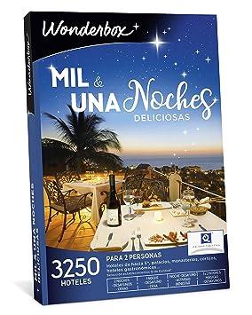 WONDERBOX Caja Regalo -MIL & UNA Noches DELICIOSAS- 3.250 hoteles deliciosos para Dos Personas