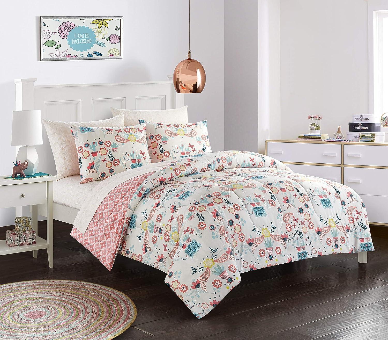 Heritage Kids Llama Comforter Set, Twin