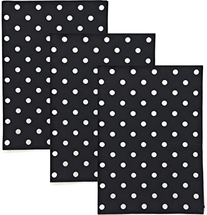 Amazon Com Dunroven House Polka Dot 100 Cotton Kitchen Towels Set