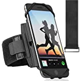 360° Rotatable Premium Sports Running Armband for All Phones: iPhone 12, 12 Pro Max 11 Pro 8 Plus, Samsung Galaxy S20 S10 S9