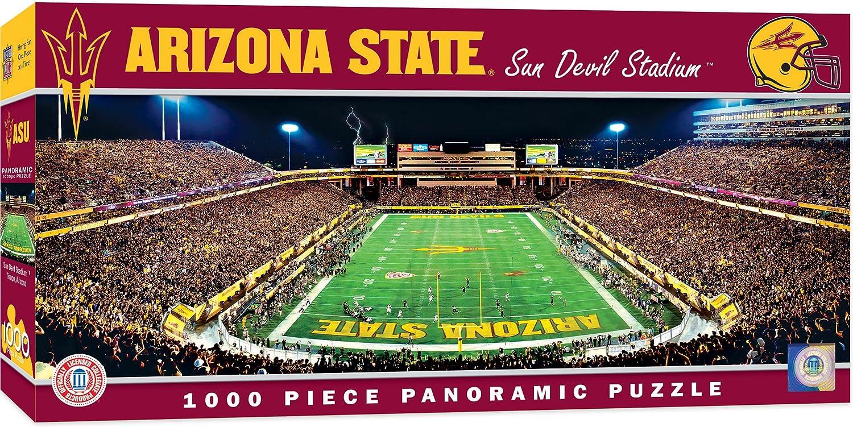 1000 Pieces MasterPieces NCAA Arizona State Sun Devils Football Stadium Panoramic Jigsaw Puzzle 13 x 39