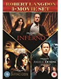 Inferno, Angels and Demons and The Da Vinci Code  [DVD] [2016]