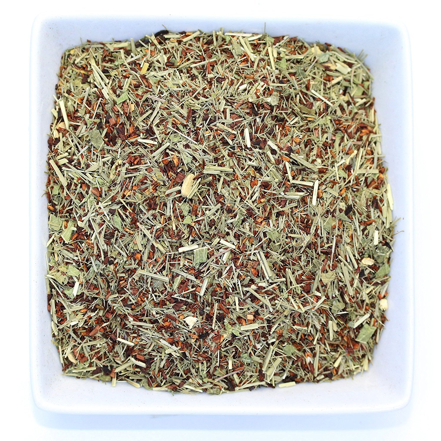 Tealyra - French Lemon Ginger - Rooibos - Honeybush - Lemongrass - Red Bush Herbal Loose Leaf Tea Blend - All Natural Ingredients - High Antioxidants - Caffeine-Free - 110g (4-ounce)