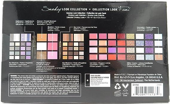 NYX S114 NXS114 - Estuche de maquillaje (para look ahumado): Amazon.es: Salud y cuidado personal