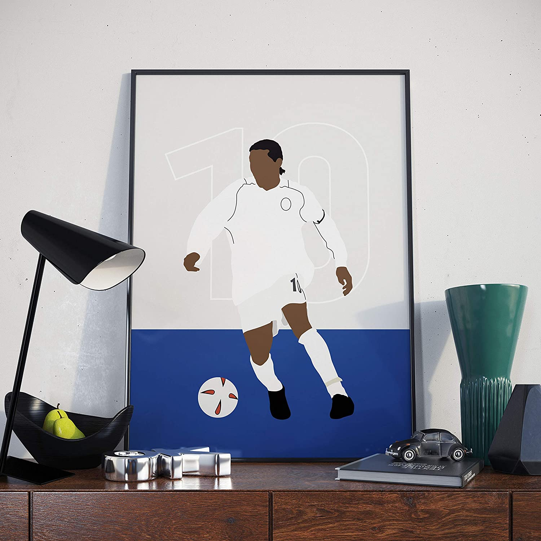 Jay-Jay Okocha Bolton Wanderers Poster