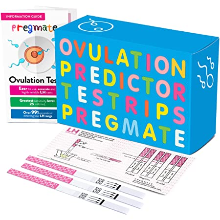 Amazon.com: PREGMATE 30 Ovulation LH Test Strips Predictor Kit (30 LH): Health & Personal Care