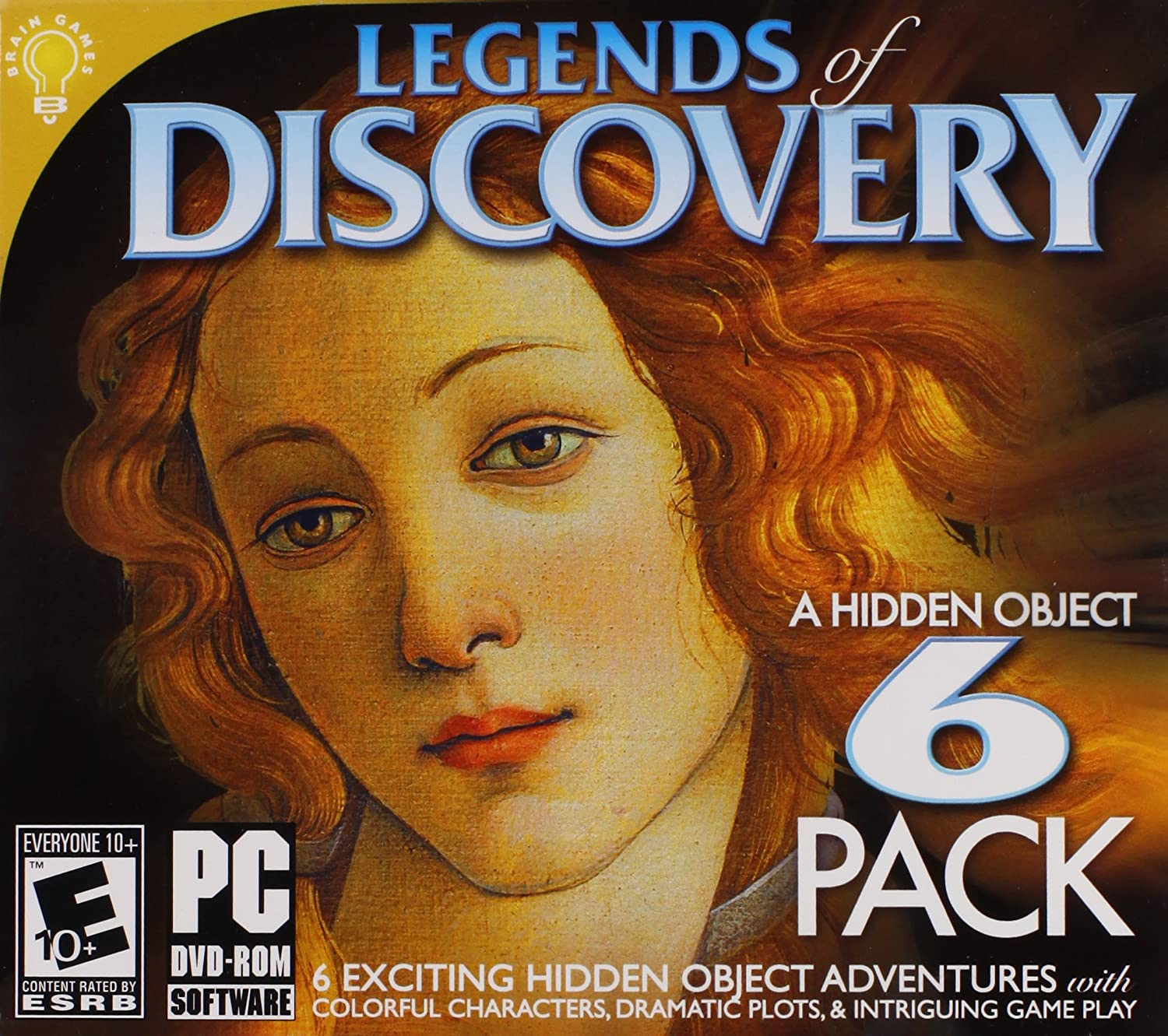 Legends of Discovery (6 Pack)