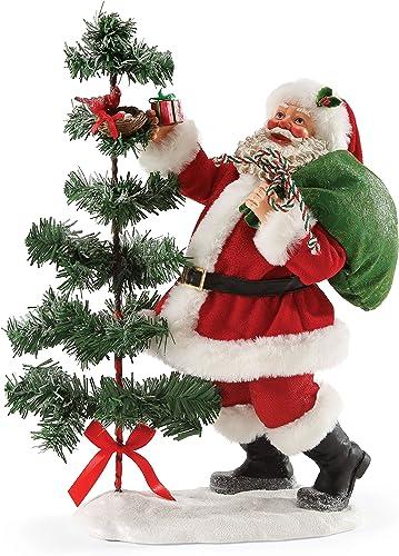 Department 56 Possible Dreams Santa Claus Santa s Nest Stop Clothtique Christmas Figurine