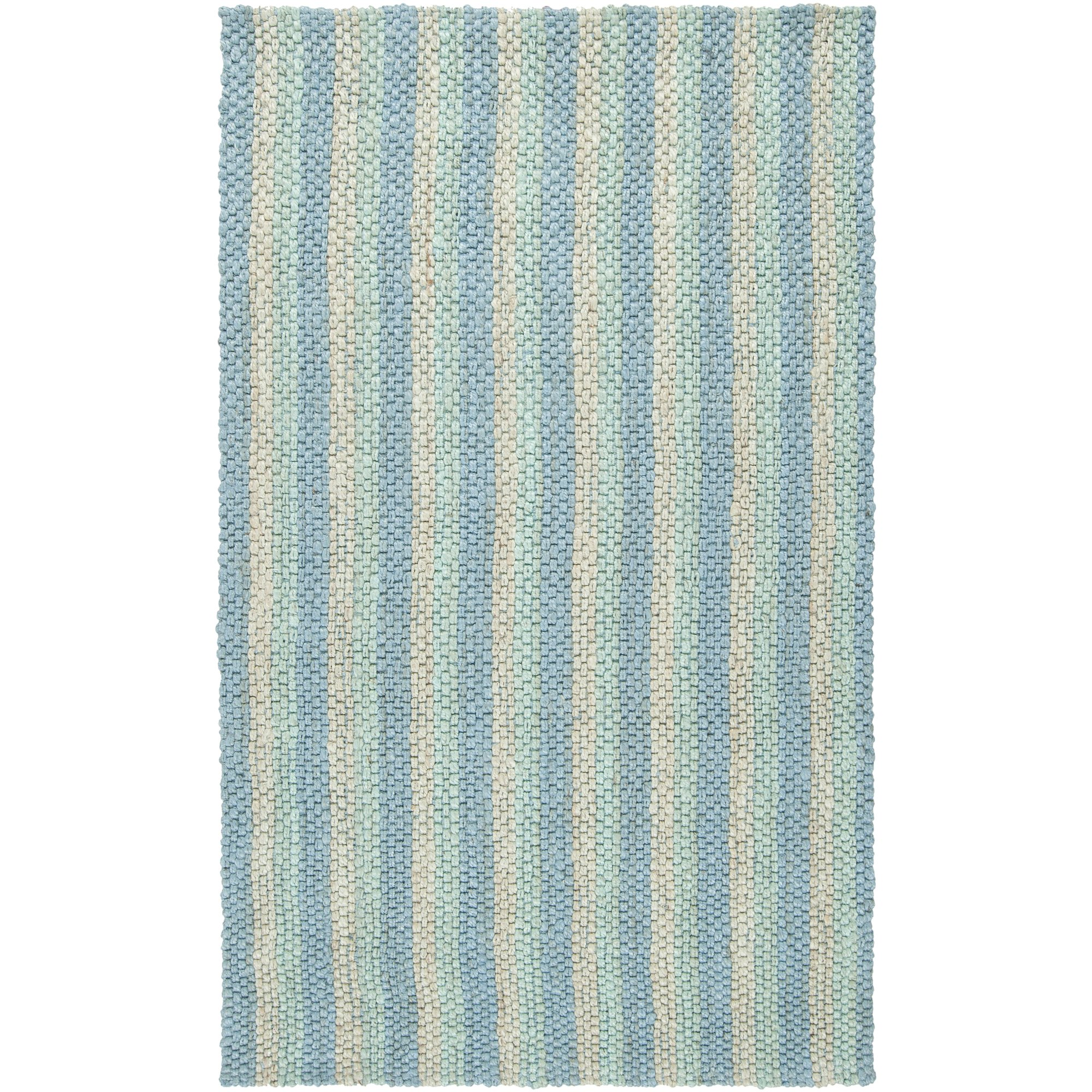 Country Living by Surya Country Jutes CTJ-2023 Natural Fiber Hand Woven 100% Jute Slate Blue 5' x 8' Area Rug