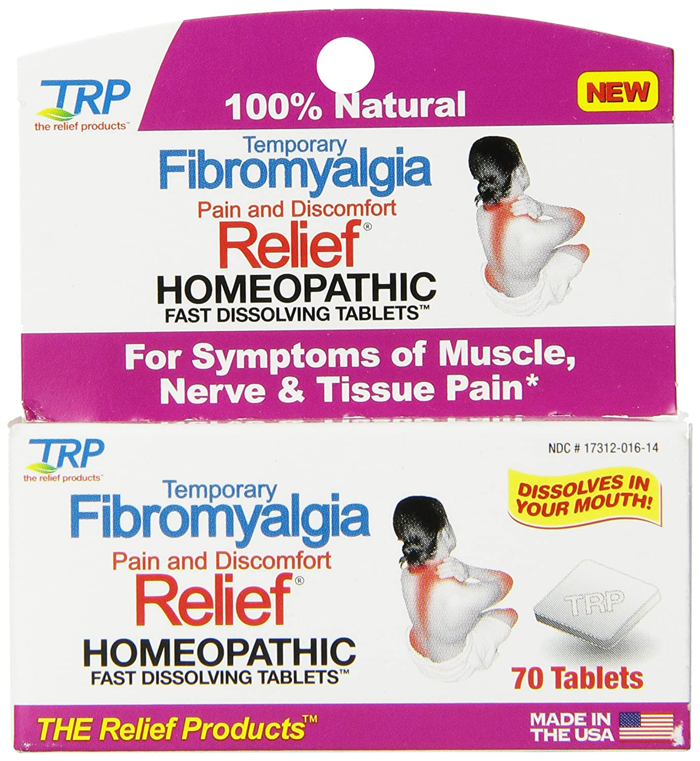 amazon com the relief products fibromyalgia fast dissolving tablets
