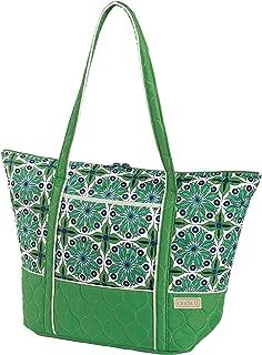 product image for Cinda b. Super Tote Ii, Verde Bonita, One Size