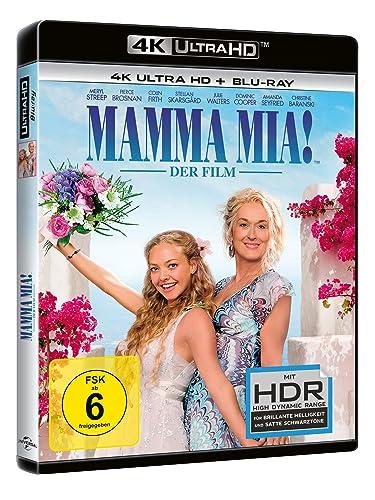 Mamma Mia! - 4K UHD [Alemania] [Blu-ray]: Amazon.es: Brosnan ...