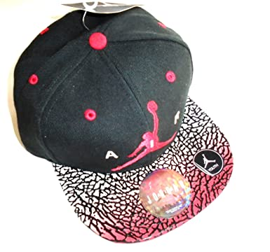 3246d98f coupon code for nike air jordan pro elevate retro elephant print court cap  snapback hat black