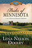 Brides of Minnesota: 3-in-1 Historical Romance (50 States of Love)