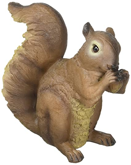 Superieur Zingz And Thingz Nibbling Squirrel Garden Statue