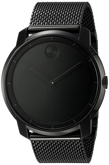 Amazon.com: Movado Mens 3600261 Bold Analog Display Swiss Quartz Black Watch: Watches
