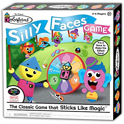 Colorforms Silly Faces Game: Toys & Games