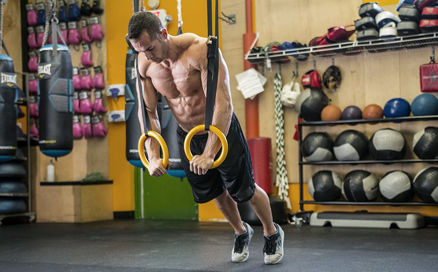 Crossfit Gymnastics Rings Workout
