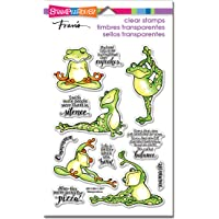Stampendous Frog Yoga Perfectly Clear Stamp Set