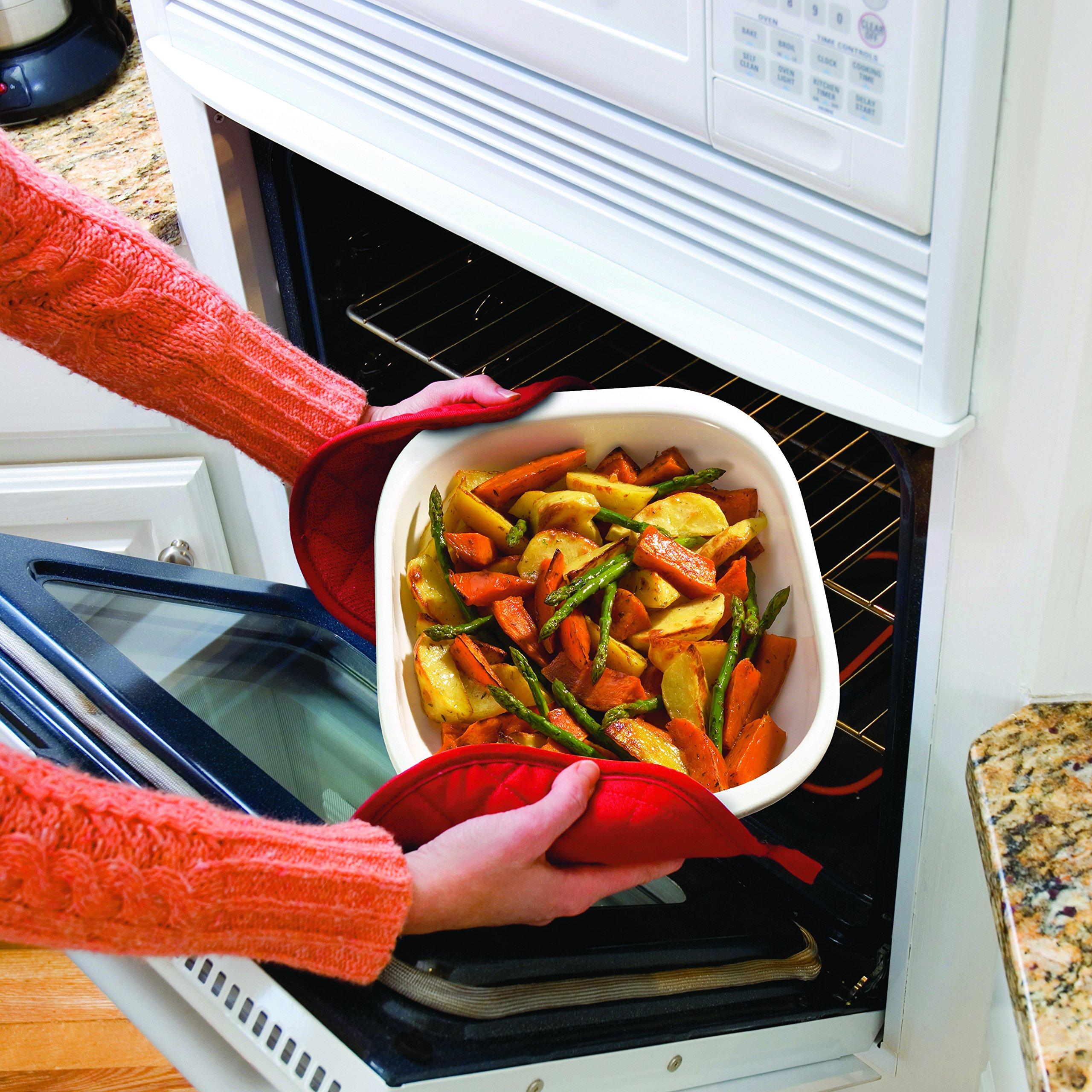 CorningWare SimplyLite 3-Quart Oblong Baking Dish with Plastic Lid by CorningWare (Image #4)