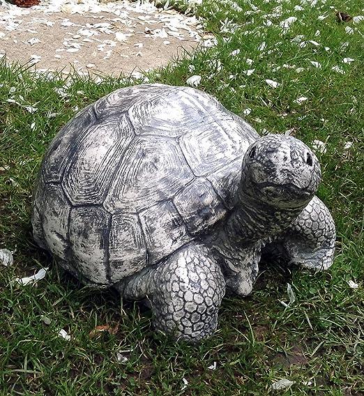 LittleGems Tortoise - Figura Decorativa de Tortuga para hogar o jardín: Amazon.es: Jardín