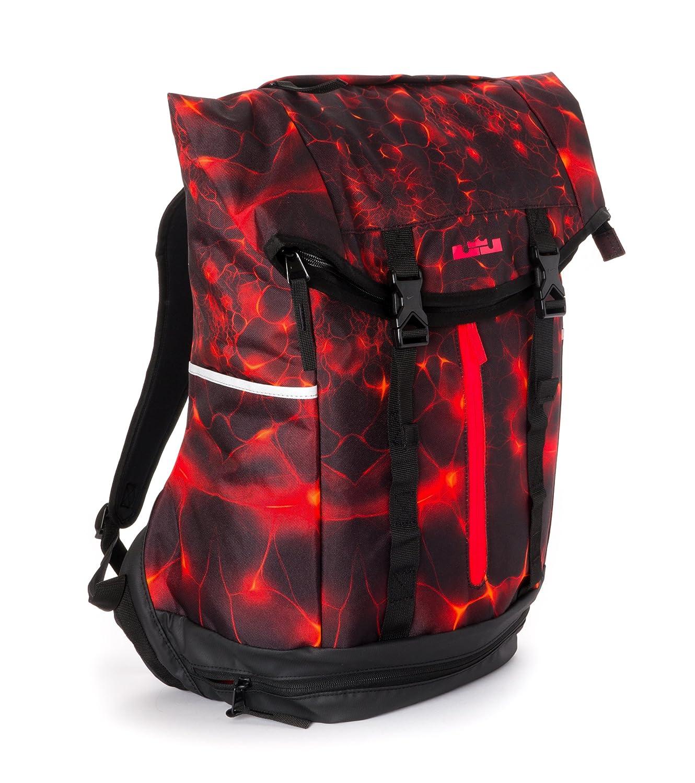 bf40740dbe Amazon.com  Nike mens LEBRON AMBASSADOR BACKPACK BA4750-008 Red Black   Sports   Outdoors