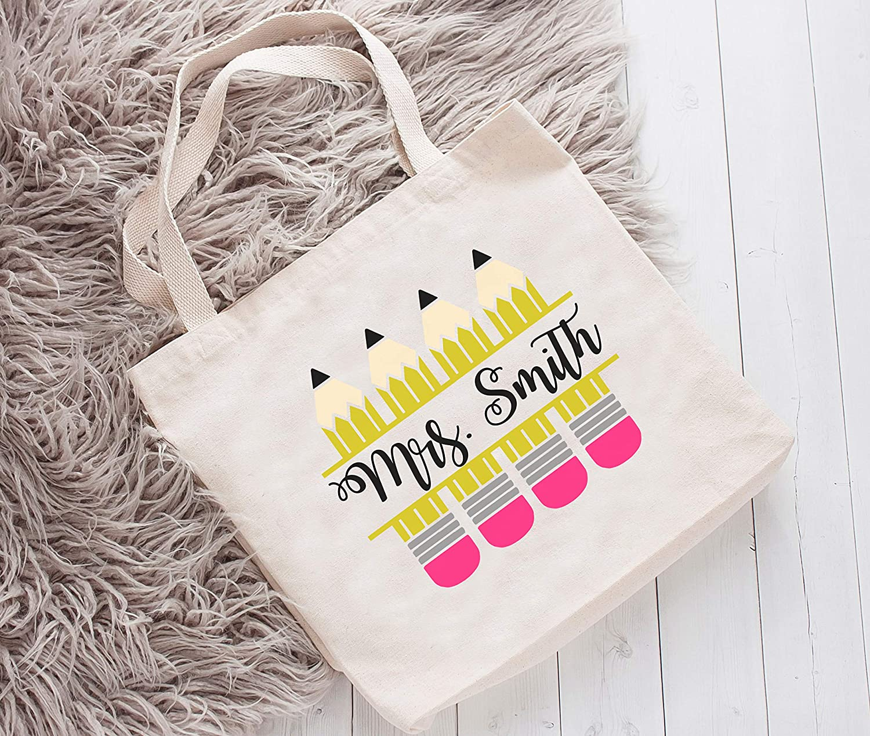Amazon Com Personalized Teacher Tote Bag Teacher Bag Teacher S