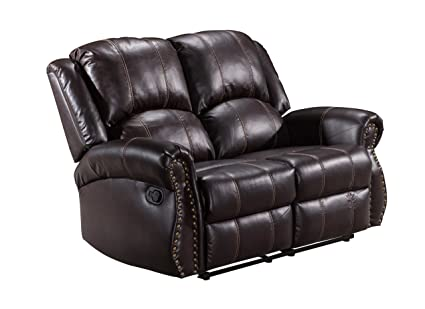 Admirable Amazon Com Frivity Double Reclining Loveseat Classic And Gamerscity Chair Design For Home Gamerscityorg