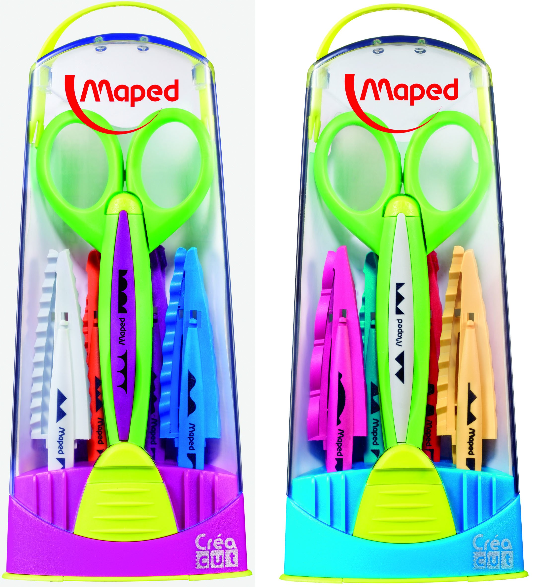 Tijera Maped Quick-Change Craft Scissors with 5 Blades