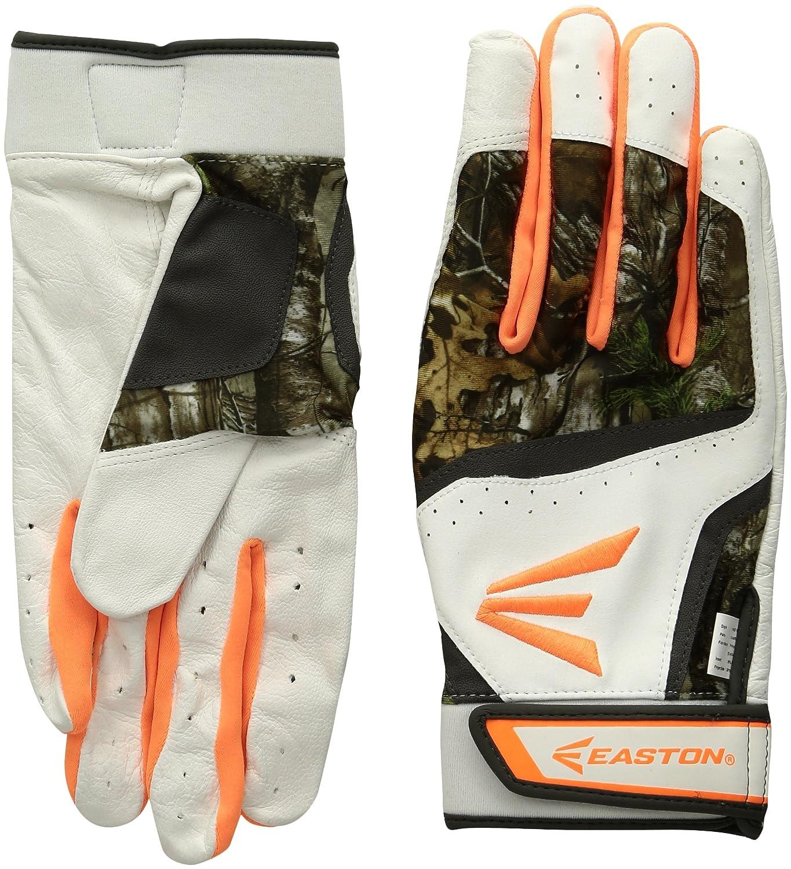 イーストンHyperskin hf7 Fastpitchバッティング手袋 B010MRYHHW Small|White/RT White/RT Small