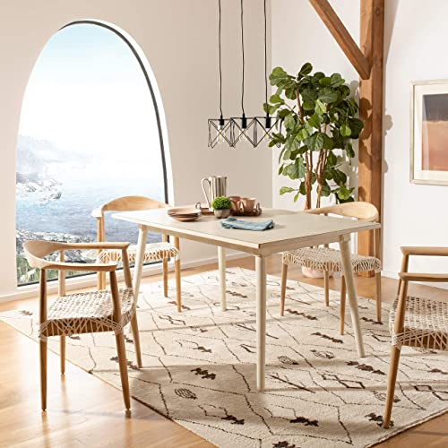Safavieh Home Tia Modern Antique White Dining Table