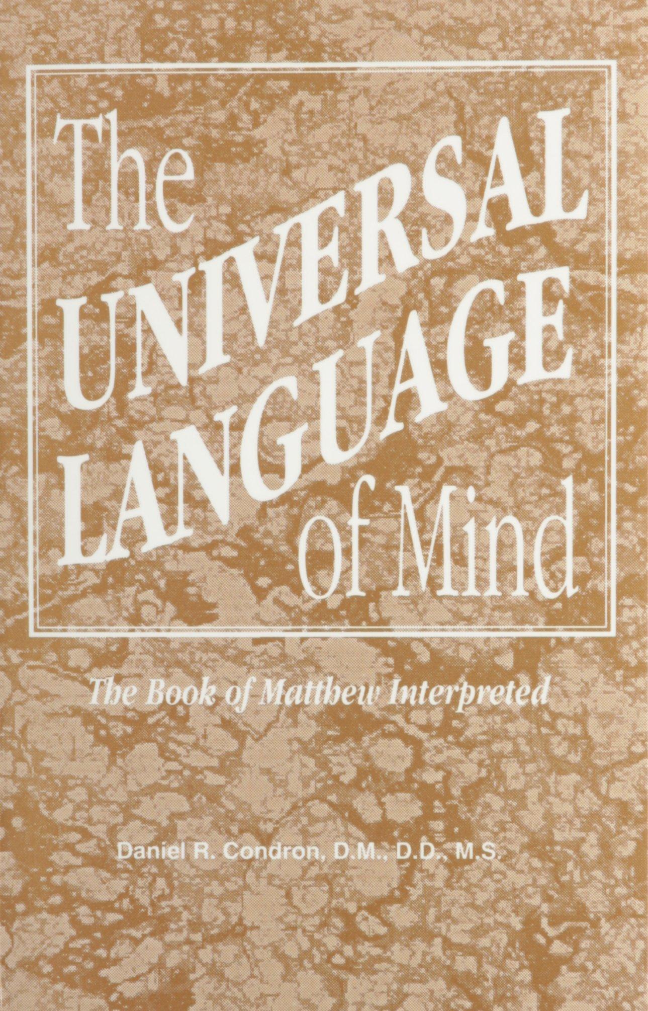 Universal Language of Mind: The Book of Matthew Interpreted