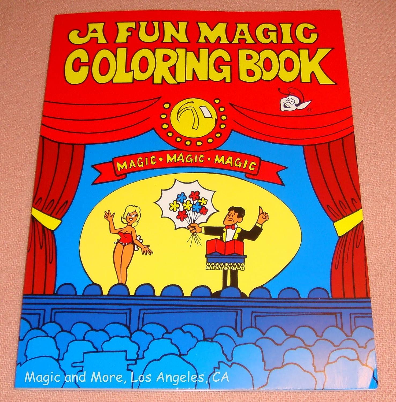 A fun magic coloring book amazon - Amazon Com Fun Magic Coloring Book Pocket Size Easy To Perform 1111 Toys Games