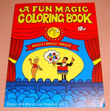 fun magic coloring book pocket size easy to perform 1111 - A Fun Magic Coloring Book