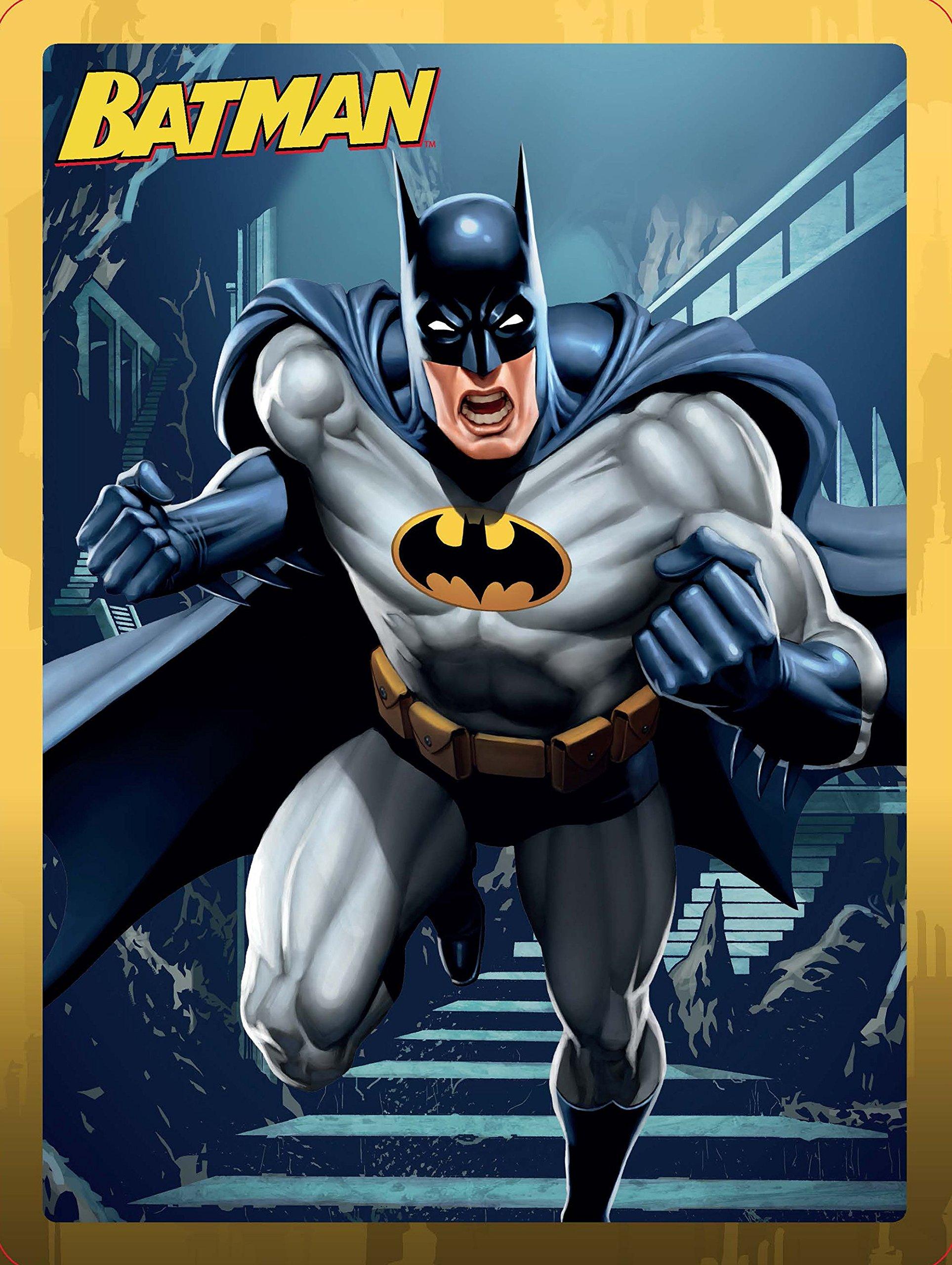 Batman. Caja metálica: Libro de aventuras · Libro para colorear · Libro de actividades · Más de 50 pegatinas · Un póster doble · 4 Rotuladores DC Superhéroes: Amazon.es: DC Superhéroes, Editorial Planeta S. A.: Libros
