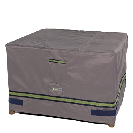 Charmant Duck Covers Soteria Rainproof 32u0026quot; Square Patio Ottoman/Side Table Cover